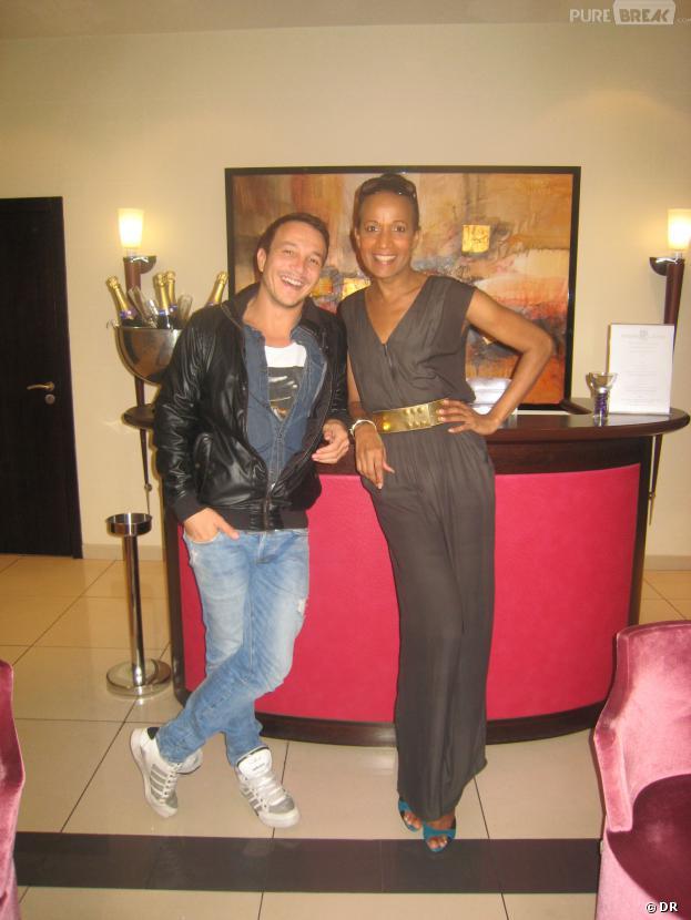 Vincent Mc Doom et Laurent Artufel à l'hôtel Park Lane en interview pour Purebreak pour les Lauriers de Cristal.