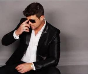 Robin Thicke est nommé aux American Music Awards 2013