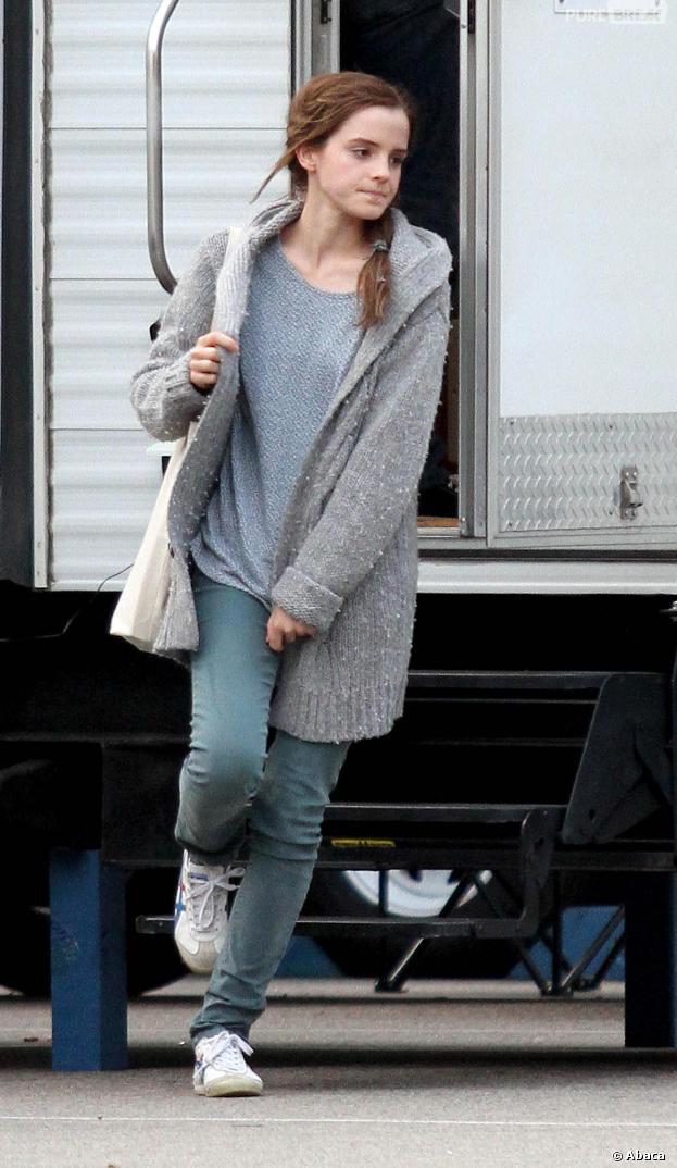 Noah : Emma Watson sur le tournage en octobre 2012