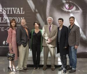 Crossing Lines : les acteurs lors du Festival de télévision de Monte Carlo 2013