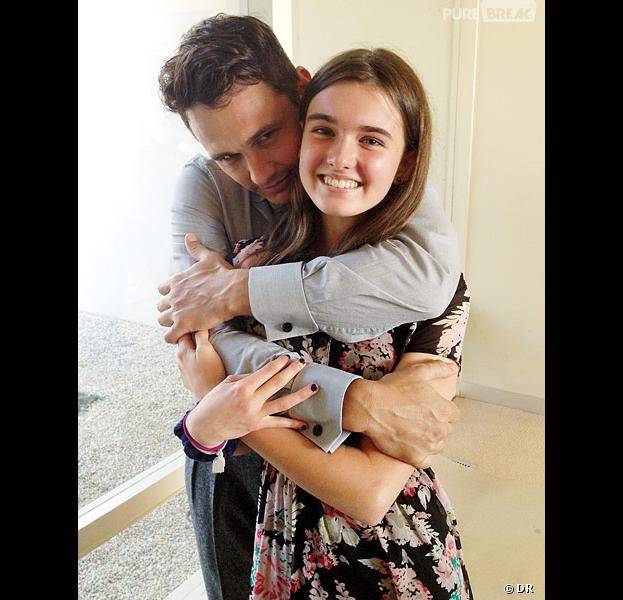 James Franco et Greta Pasqua : photo câlin pour une vengeance