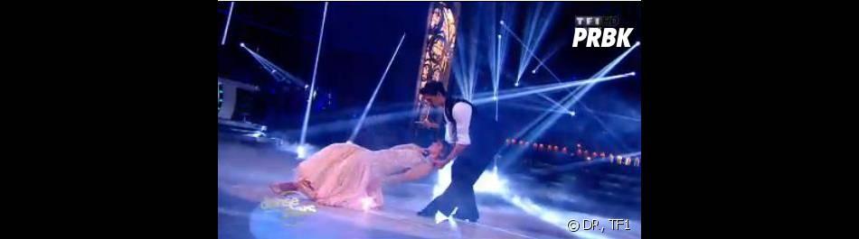 Danse avec les stars 4 : Laetitia Millot en plein foxtrot avec son partenaire