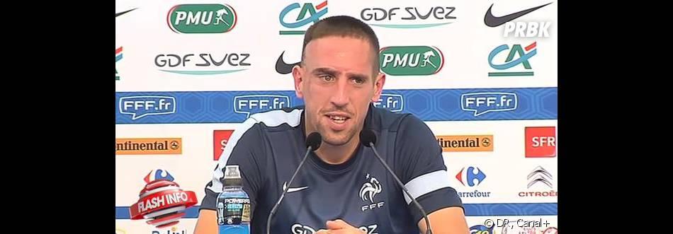 Franck Ribéry déjà déguisé pour Halloween ?