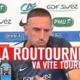 "Franckk Ribéry : ""j'espère que la routourne va vite tourner"""