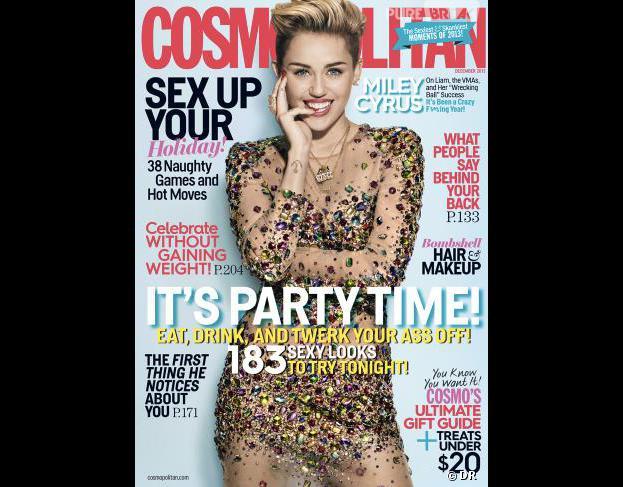 Miley Cyrus se confie à Cosmopolitan