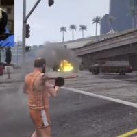 GTA 5 : une mamie se défoule dans le jeu... pour se plaindre du prix de l'essence