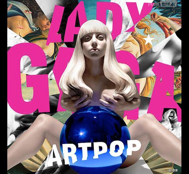 Lady Gaga : la pochette topless d'ARTPOP en vente ce lundi 11 novembre 2013