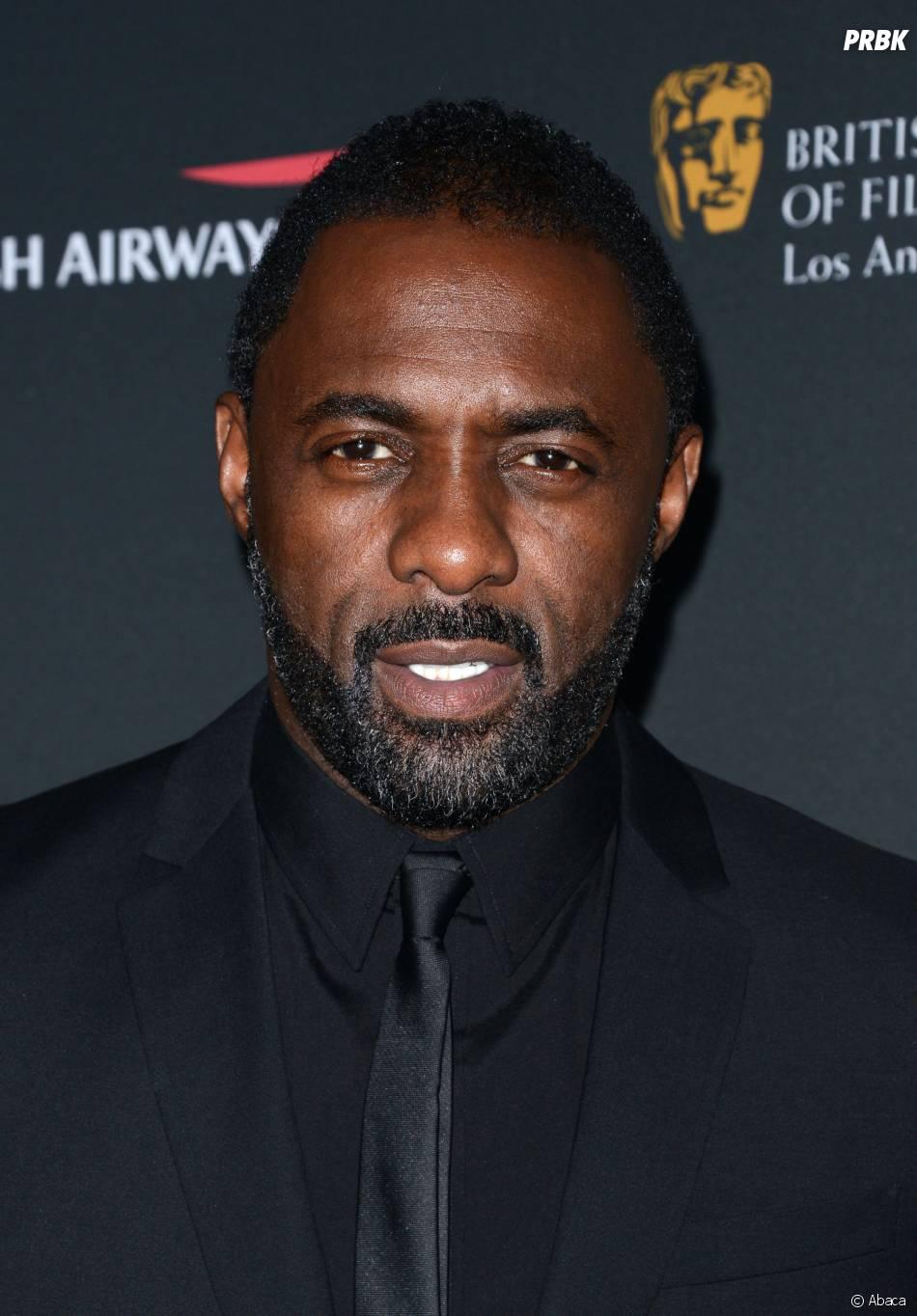Idris Elba : pensée pour les victimes du typhon Haiyan lors des BAFTA LA Britannia Awards le 9 novembre 2013 à Los Angeles