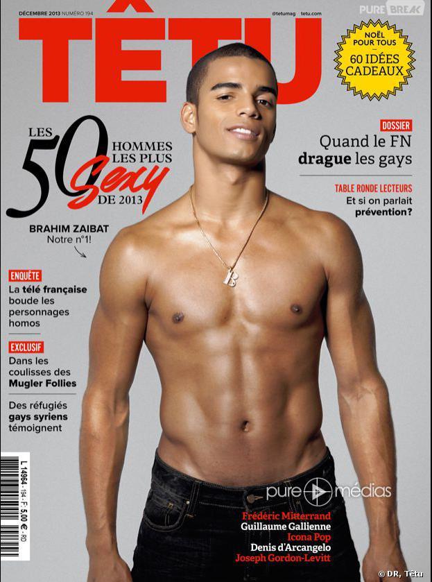"""Danse avec les stars 4 : Brahim Zaibat a été élu """"homme le plus sexy de 2013"""" par le magazine Têtu"""