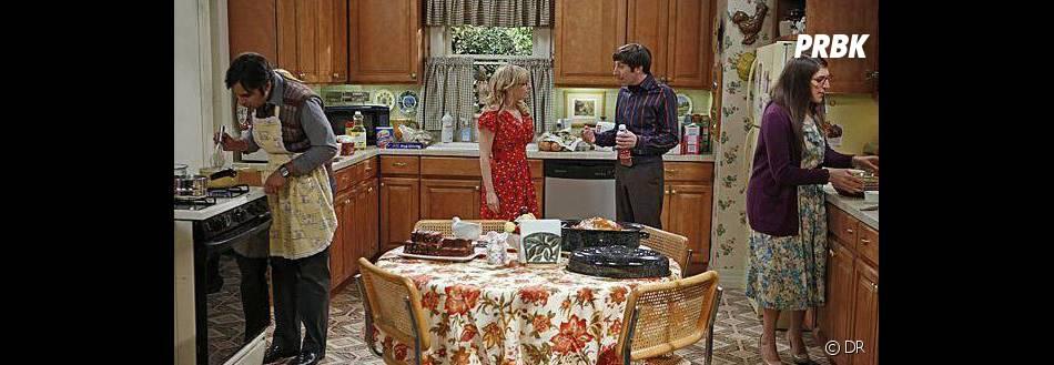 The Big Bang Theory saison 7 : Premier thanksgiving pour la série