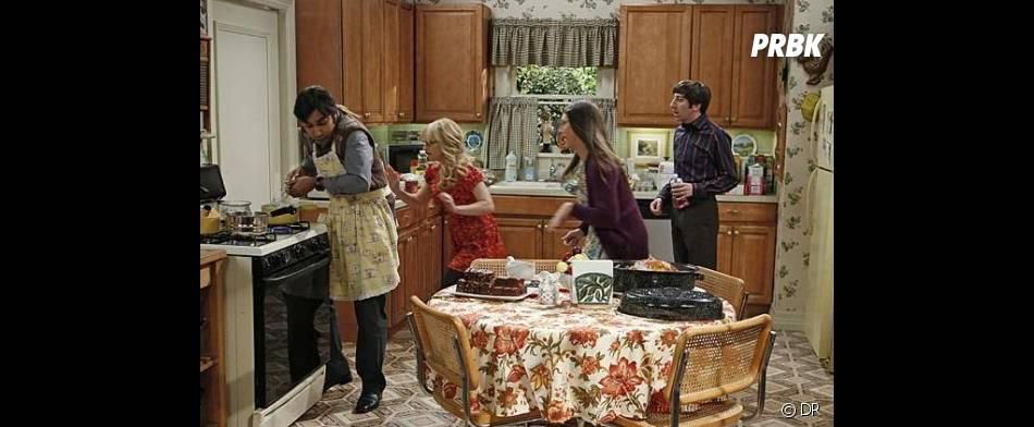 The Big Bang Theory saison 7 : Premier thanksgiving pour les personnages