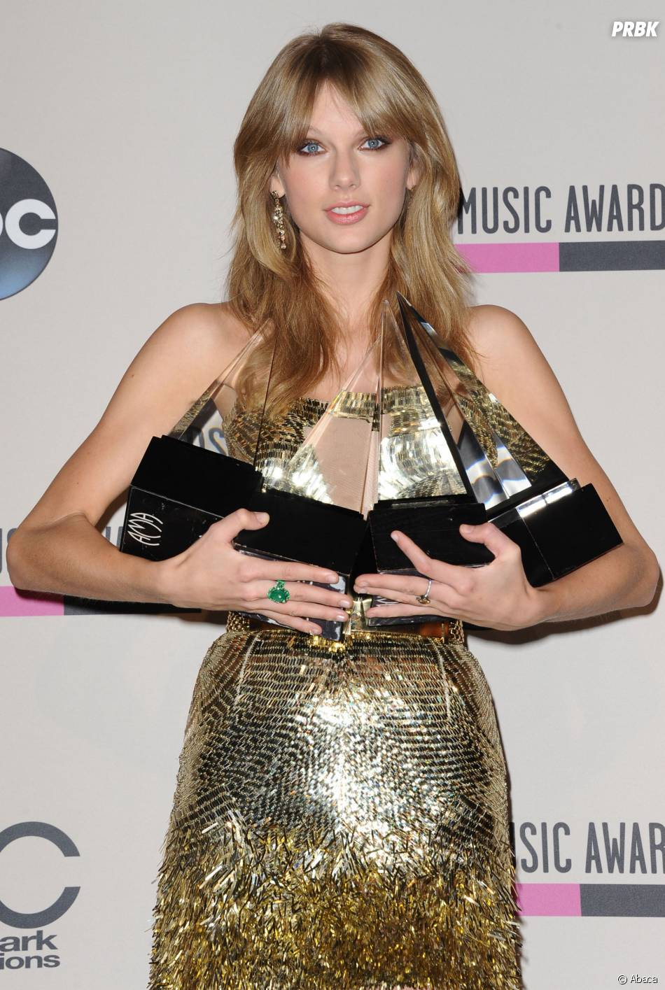 American Music Awards 2013 : Taylor Swift grande gagnante