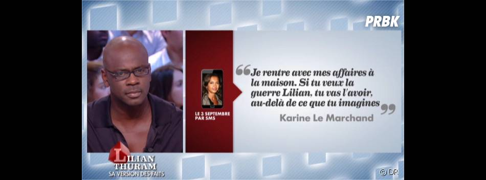 Karine Le Marchand et Lilian Thuram : une rupture médiatique à cause d'un appartement ?