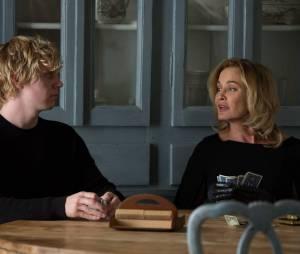 American Horror Story saison 3, épisode 9 : Evan Peters et Jessica Lange