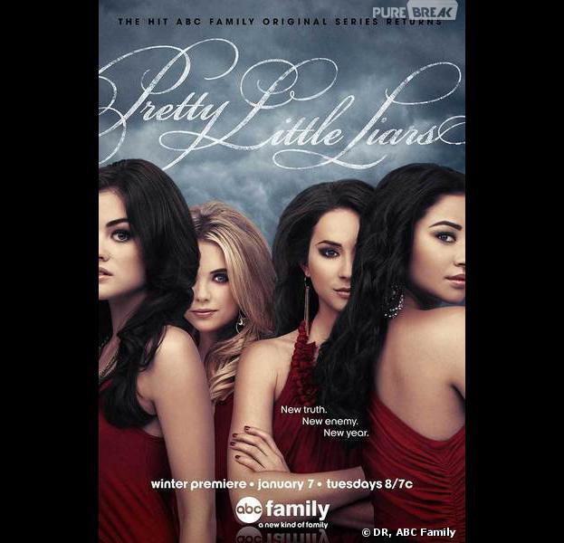 Pretty Little Liars saison 4 : nouveau poster