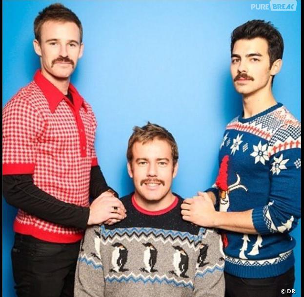 Jonas Brother : leur carte de voeux pour Noël 2013