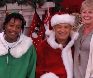 Tom Hanks et Wiz Khalifa : leur carte de voeux pour Noël 2013 pour le show de Jimmy Kimmel