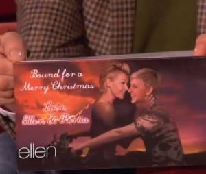 Ellen Degeneres : sa carte de voeux pour Noël 2013, parodie du clip Bound 2 de Kanye West et Kim Kardashian