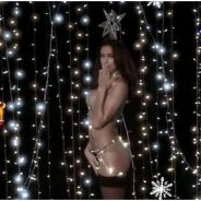 Irina Shayk : la petite-amie de Cristiano Ronaldo à moitié nue pour fêter Noël