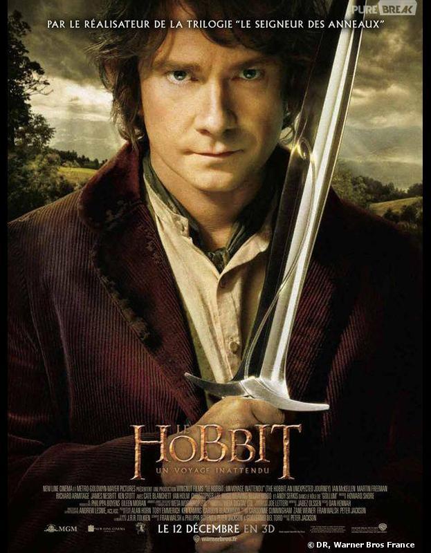 Le Hobbit, un voyage inattendu : film le plus piraté en 2013