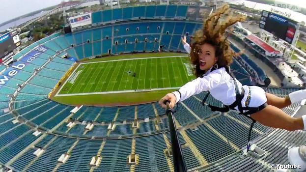 Rope Swing Zipline - NFL Stadium