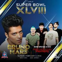 Bruno Mars invite un groupe culte pour son show du Super Bowl 2014