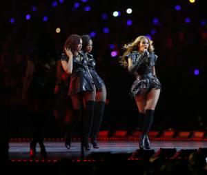 Beyoncé pendant le Super Bowl 2013