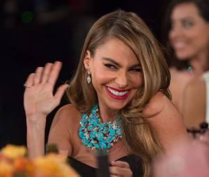 Sofia Vergara pendant la cérémonie desGolden Globes 2014, le 12 janvier 2014 à Los Angeles