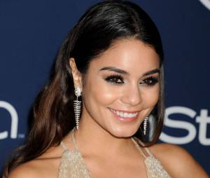 Vanessa Hudgens à l'after party InStyle/Warner Bros des Golden Globes 2014, le 12 janvier 2014 à Los Angeles