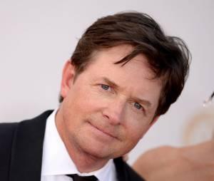 Michael J. Fox sur le tapis rouge des Emmy Awards 2013