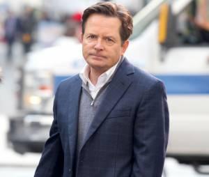 Michael J. Fox pendant le tournage de sa série The Michael J Fox Show