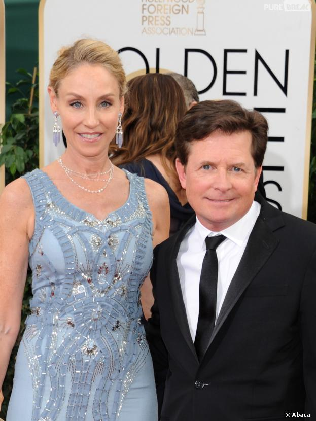 michael j fox bad buzz sur le tapis rouge des golden. Black Bedroom Furniture Sets. Home Design Ideas