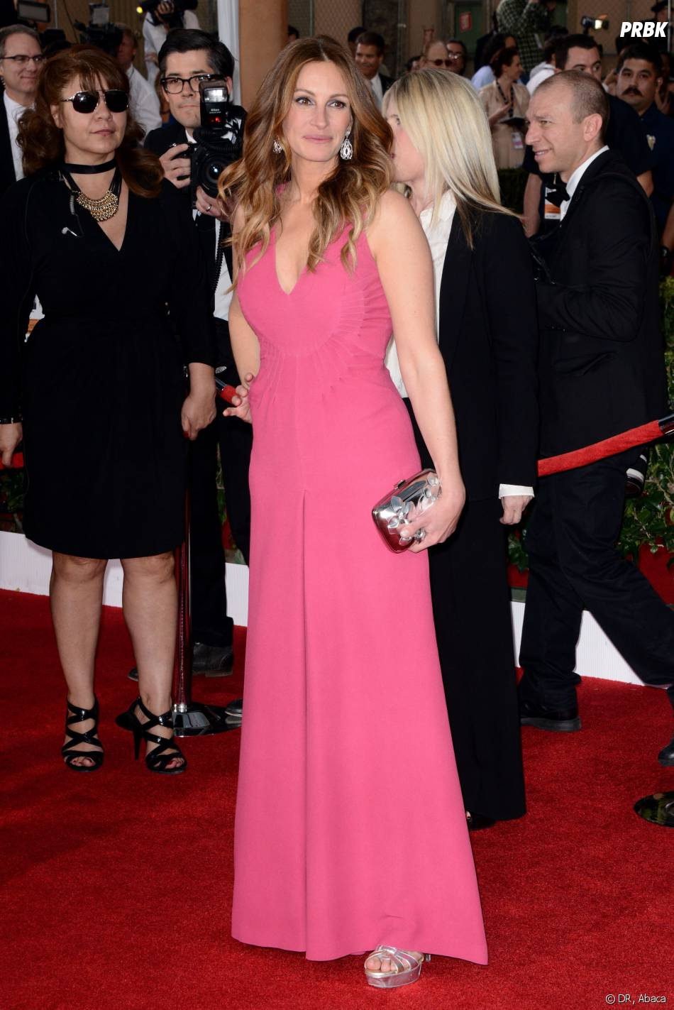 SAG Awards 2014 : Julia Roberts à Los Angeles le samedi 18 janvier