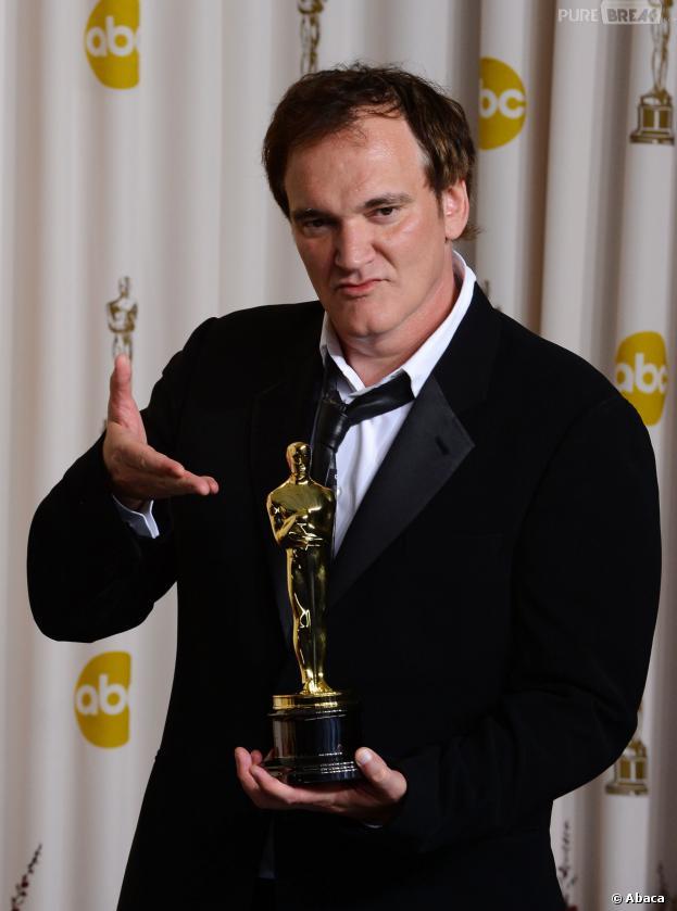 Quentin Tarantino aux Oscars 2013