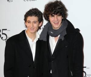 Vincent Lacoste et Anthony Sonigo sur le tapis rouge des César 2010