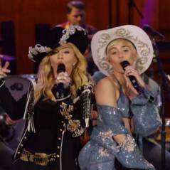 Miley Cyrus et Madonna : fessée et danse collé serré pour le MTV Unplugged