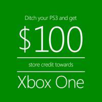 Xbox One VS PS4 : Microsoft offre 100$ aux joueurs... s'ils se séparent de leur PS3