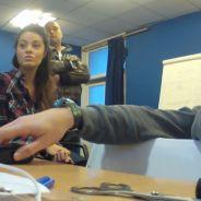 Jade (La Belle et ses princes 3) piégée dans la nouvelle caméra cachée de Gonzague