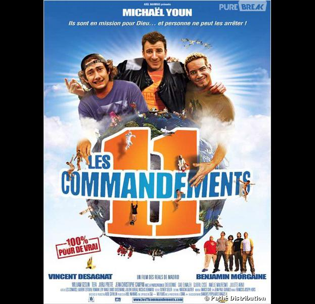 Michaël Youn, Vincent Desagnat et Benjamin Morgaine : bientôt la suite du film Les 11 Commandements
