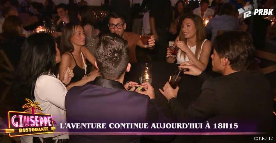 Giuseppe Ristorante : moment de dédente dans un bar pour les candidats