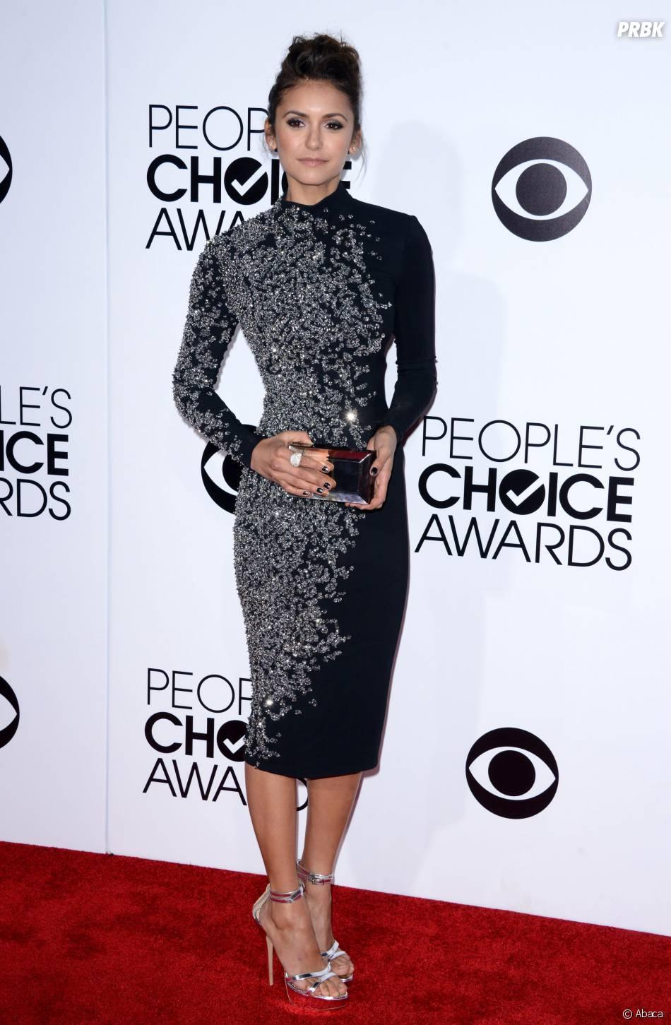 Nina Dobrev aux People's Choice Awards 2014, le 8 janvier 2014 à Los Angeles