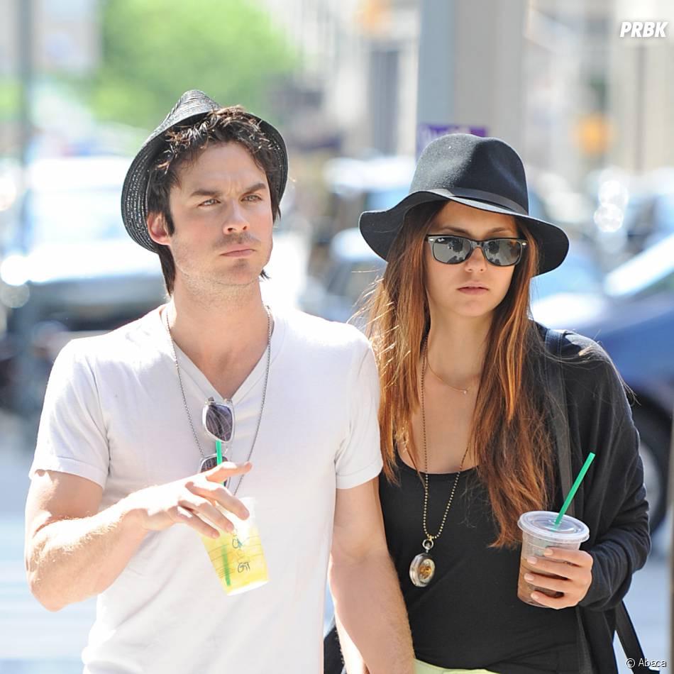 Nina Dobrev et Ian Somerhalder en mai 2012 à New York