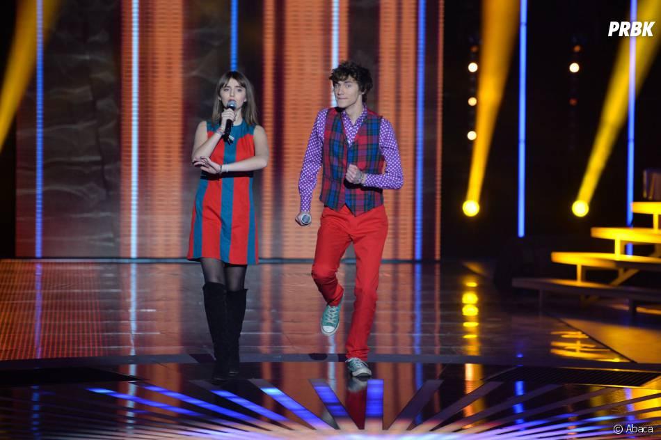 Nouvelle Star 2014 : Pauline et Mathieu lors d'un prime