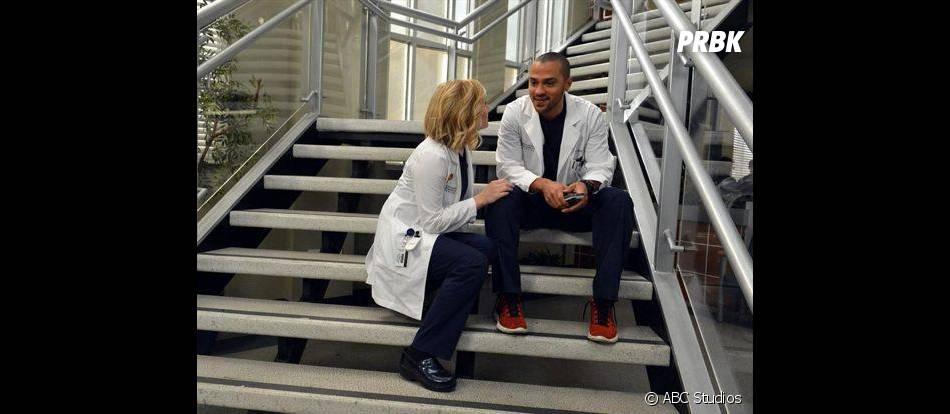 Grey's Anatomy saison 10, épisode 14 : Jesse Williams sur une photo