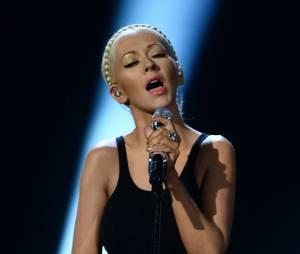 Christina Aguilera, ici sur la scène des AMA 2013, serait enceinte