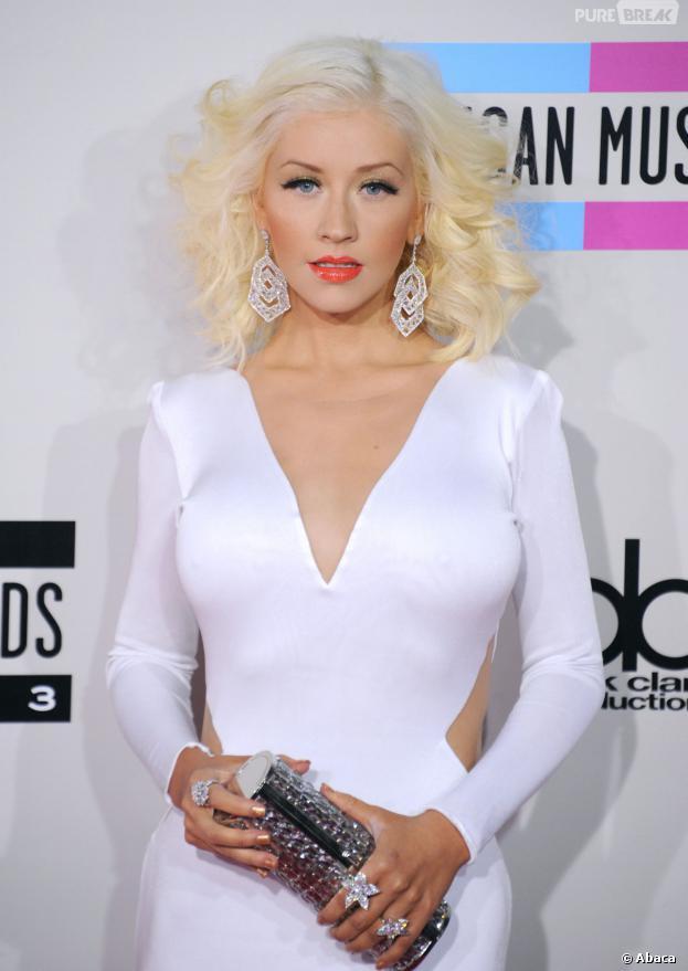 Christina Aguilera Seins Enceintes