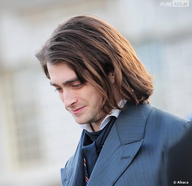 Daniel Radcliffe méconnaissable sur le tournage du film Frankenstein à Londres, le 26 février 2014
