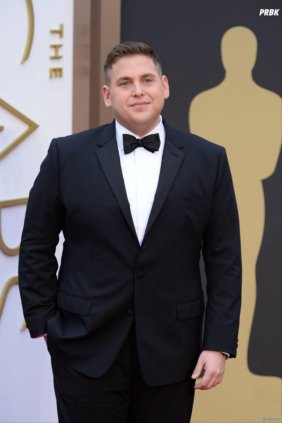 Jonah Hill sur le tapis-rouge des Oscars le 2 mars 2014