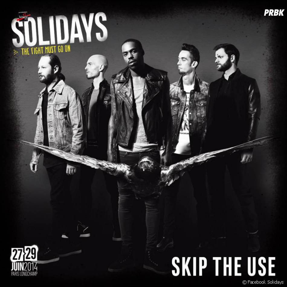 Skip The Use rejoint la programmation des Solidays 2014