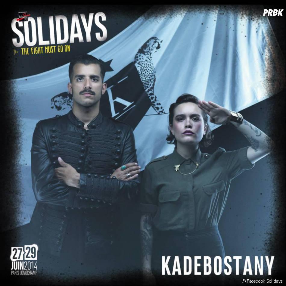 Kadebostany rejoint la programmation des Solidays 2014